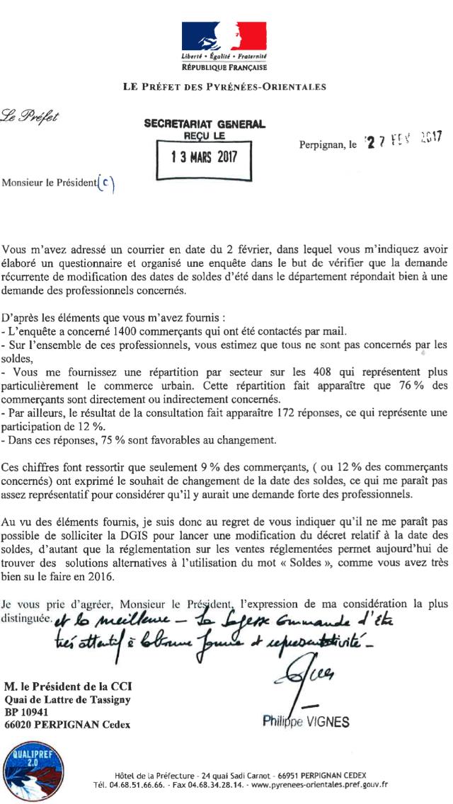 refuse soldes perpignan 2017