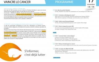 4e édition des journées VAINCRE LE CANCER 4