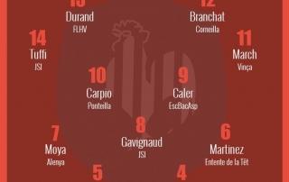 XV des séries Rugby66 round 11 2