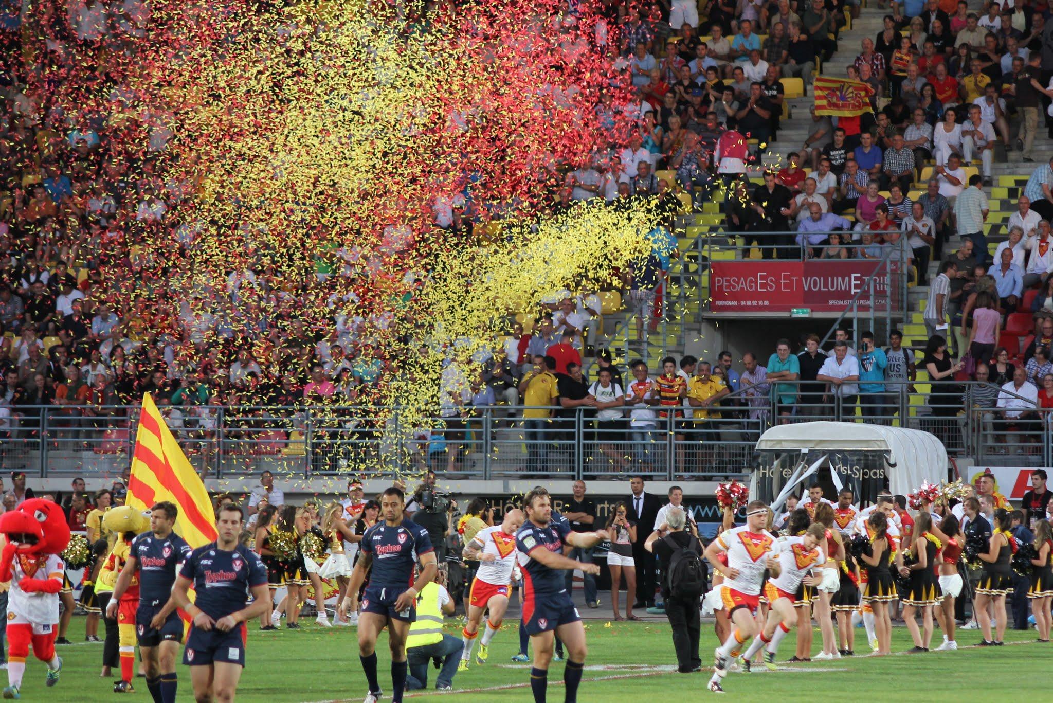Match des dragons catalans